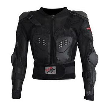 Racing Motorcycle Jacket Full Body Armor Black Motocross Protective Gear Jackets M-XXXL  PRO-BIKER