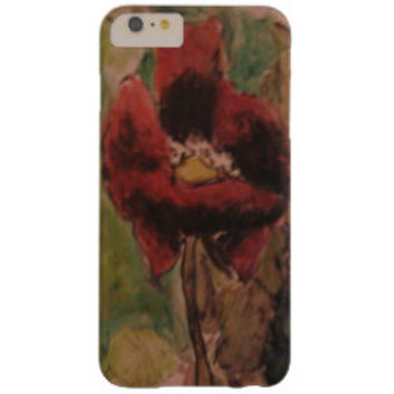 Sleeping Poppy Barely There iPhone 6 Plus Case