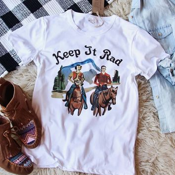 Keep It Rad Tee