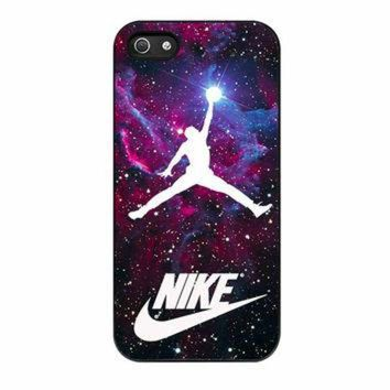 CREYUG7 Michael Jordan Nike Galaxy Blue iPhone 5 Case