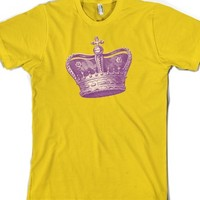 Vintage Crown-Unisex Gold T-Shirt
