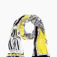 new york map scarf - kate spade new york
