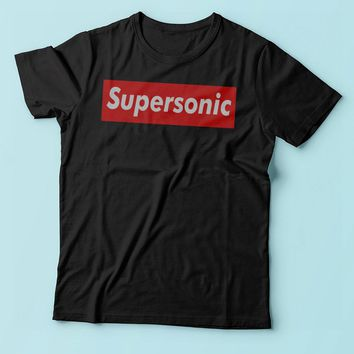 Supersonic Oasis Red Box Men'S T Shirt