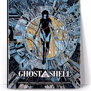 Ghost in the Shell Japanese Canvas Art