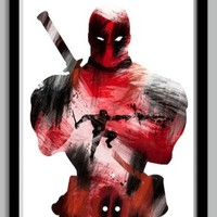 Deadpool Superhero Poster | redditgifts