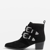 MONTANA Western Ankle Boots - Ankle Boots - Shoes