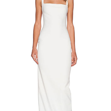 SOLACE London Lucio Maxi Dress in Cream