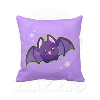 Kawaii Bat Pillows from Zazzle.com