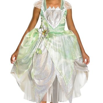 Adorable Princess Tiana Costume for Girls