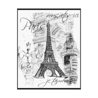 black paris canvas art - Google Search