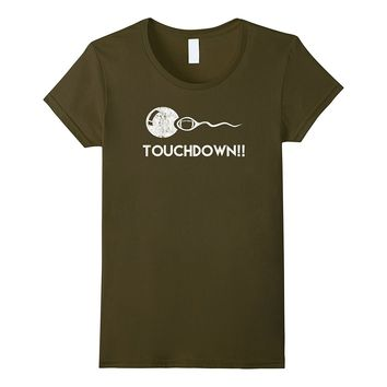 Touchdown! Funny Football Expectant Father T-Shirt