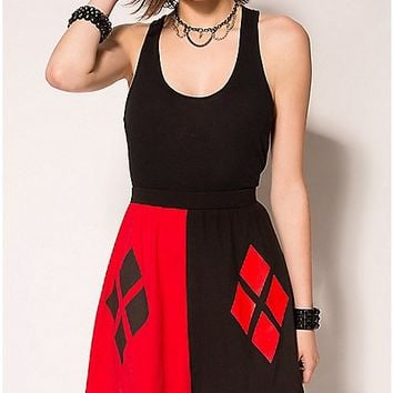 Harley Quinn Diamond Skirt - Spencer's