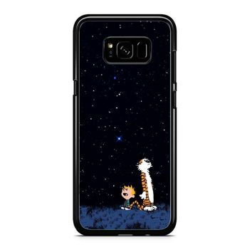 Calvin And Hobbes Stars Samsung Galaxy Note 5 Case