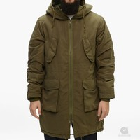 Cheap Monday Bart Parka | Caliroots - The Californian Twist of Lifestyle and Culture