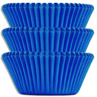Electric Blue Baking Cups