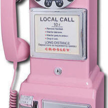 Pink 1950's Pay Phone