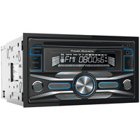 Power Acoustik Double-din In-dash Cd Receiver With 32gb Usb Playback (without Bluetooth)
