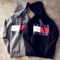 tommy hilfiger woman man fashion hooded top pullover sweater sweatshirt hoodie