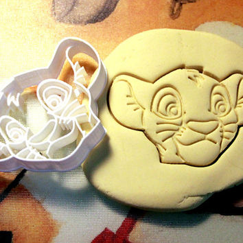 Simba Lion King Cookie Cutter