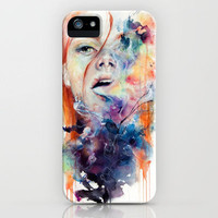 this thing called art is really dangerous iPhone Case by Agnes-cecile | Society6