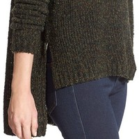 Sun & Shadow High/Low Slub Pullover | Nordstrom