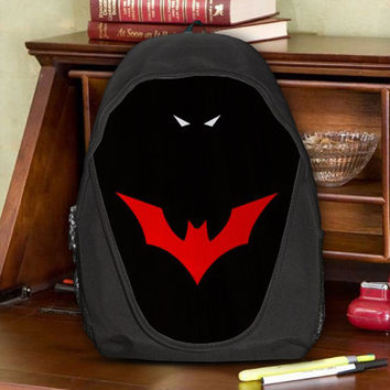 Batman Beyond of the Future Justice League Teen Kids Canvas School Backpack Bag Rucksack