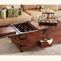 Wine Bar Treasure Trunk - NapaStyle