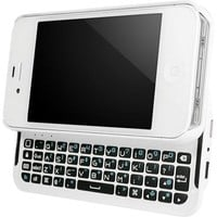 """BoxWave Keyboard Buddy iPhone 4S / 4 Case - Backlit Edition - Bluetooth Keyboard Case with Integrated Apple Commands and Backlit Keys for Apple iPhone 4S/4 (Winter White)"""""""
