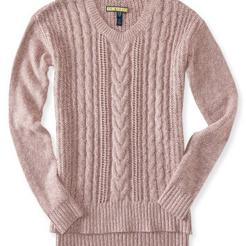 Prince & Fox Cable Sweater - Aeropostale