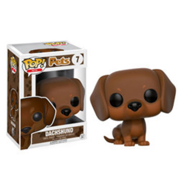 POP! PETS 07: DACHSHUND (BROWN)