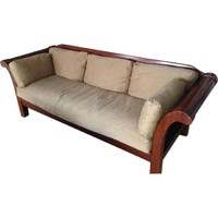 Hickory Chair Wood Sofa+delivery