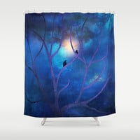 I Only Feel Good With You Shower Curtain by Viviana González | Society6