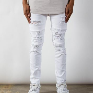 White Dime Denim | Taper Fit