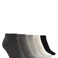 Multi-Colored Ankle Sock Set