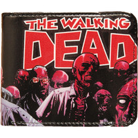 Walking Dead Men's Omni Bi-Fold Black