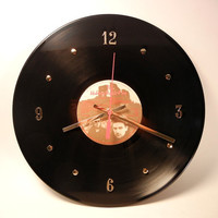 U2 Vinyl Record Wall Clock The Unforgettable Fire by recordsandstuff