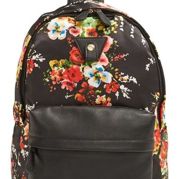Nila Anthony Floral Backpack - Black