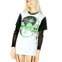 THREE MYSTIC MARTIANS TEE