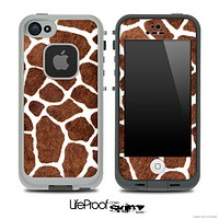 Real Giraffe Print Skin for the iPhone 5 or 4/4s LifeProof Case