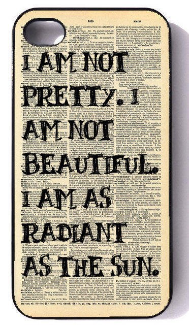 Hunger Games I Am Radiant- iphone 4 case, iphone case, iphone 4s case, iphone 4s, iphone 4 cover, iphone hard case, iphone 4
