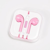 Light Pink Love Of Music Earbuds | Headphones & Speakers | rue21