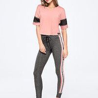 Campus High Waist Legging - PINK - Victoria's Secret
