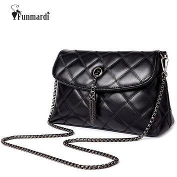Women Messenger Bags Quilted Leather Women Bag Chain Cross-body Handbags Women's Handbag Brand Lady Shoulder bag WLHB1399