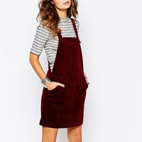 New Look Dungaree Cord Pinny