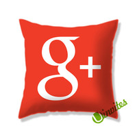 Google+ Logo Square Pillow Cover