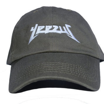 Yeezus Embroidered Dad Hat (TLOP Life of Pablo)