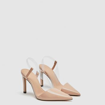 VINYL ASYMMETRIC COURT SHOES