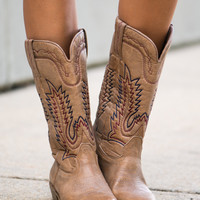 The Ponderosa Boot, Natural