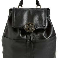 Tory Burch 'Amanda - Medium' Backpack - Black