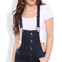 YMI Button Down Overall Short